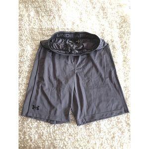 Under Armour grey shorts size Medium
